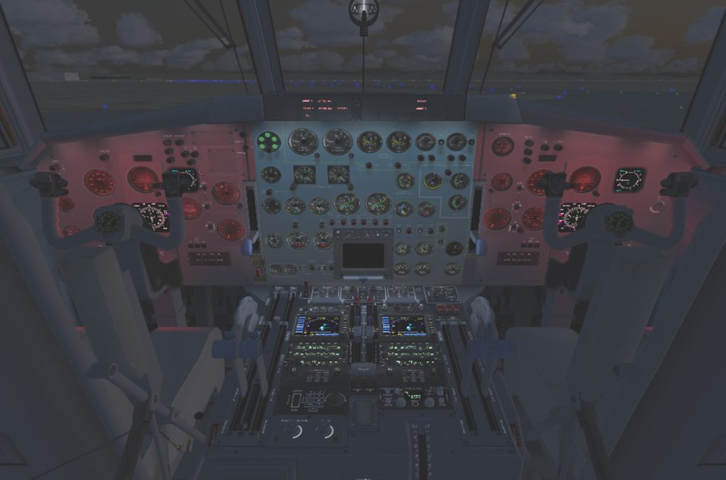 Flight Engineer Light Panel