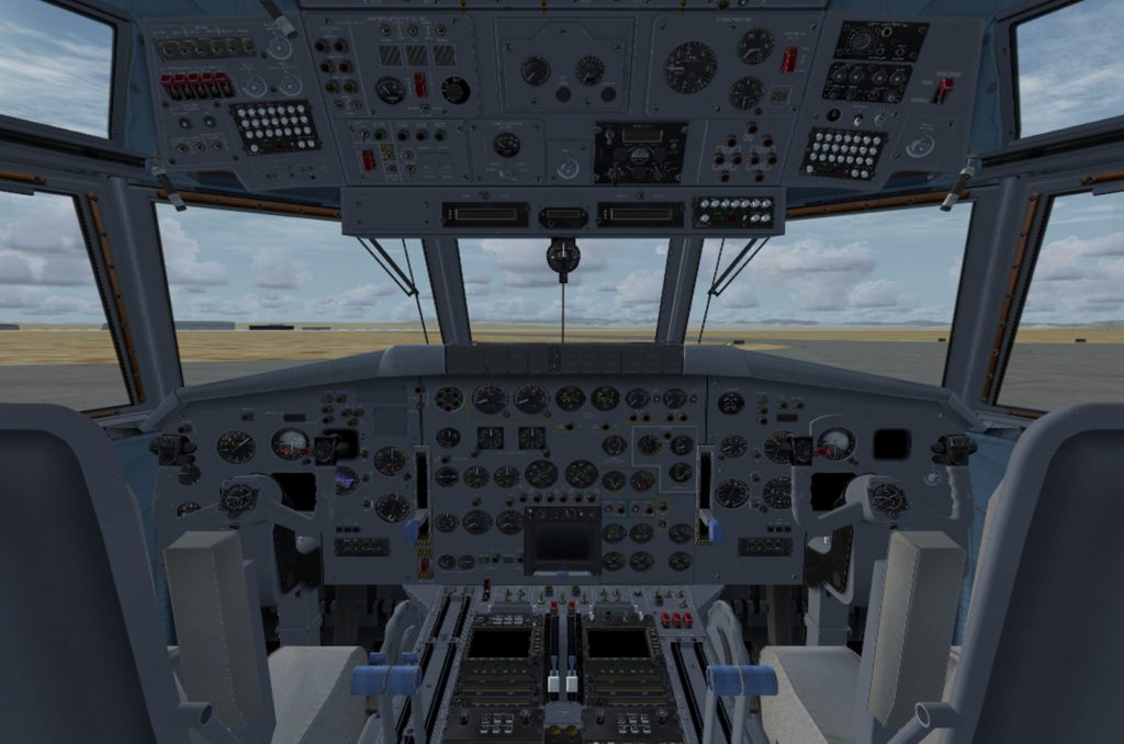 Flight Engineer Seat